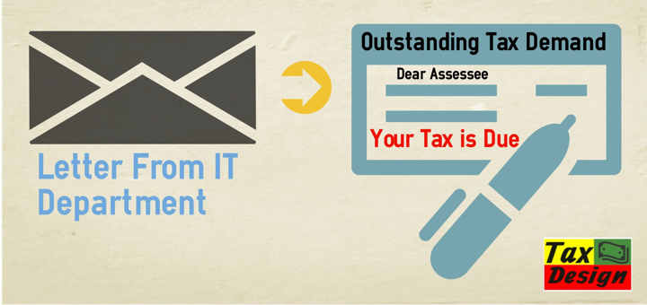 How to make response to outstanding tax demand online taxdesign spiritdancerdesigns Images
